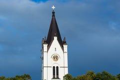 Kirche in Nora, Schweden stockfotografie