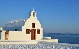 Kirche Oia Santorini Stockbilder