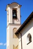 Kirche olgiate olona Italien die alte Wandterrassenkirche und das b Lizenzfreies Stockfoto