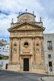 Kirche in Ostuni, Puglia, Italien Stockbilder