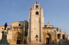 Kirche in Palencia Stockfotografie