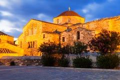 Kirche Panagia Ekatontapyliani, Paros Stockfotos
