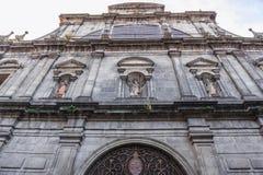 Kirche in Porto Stockfotografie