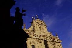 Kirche Prag Stockfotografie