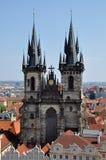 Kirche in Prag, Tschechische Republik Stockfotografie