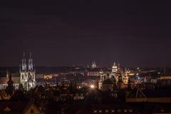 Kirche Prag-Tyn stockfotografie