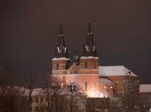 Kirche an Rezekne-Stadt lizenzfreies stockbild