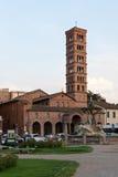 Kirche in Rom stockbilder