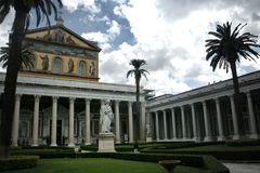 Kirche in Rom stockfoto