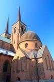 Kirche in Roskilde Lizenzfreie Stockbilder