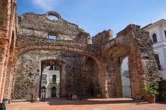Kirche ruiniert Panama Stockfotos