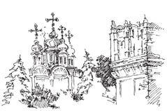 Kirche, Russland Stockfotos