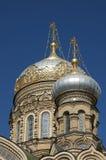 Kirche, Russland, Str. - Petersburg Stockfotografie