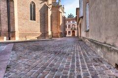 Kirche in Süd-Frankreich Albi lizenzfreie stockfotografie