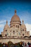 Kirche Sacre Coeur auf Montmartre-Hügel, Paris, Frankreich Lizenzfreie Stockfotografie