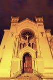 Kirche in Saint-Etienne Stockfotos