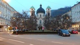 Kirche in Salzburg Lizenzfreie Stockbilder