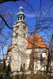 Kirche in Salzburg. Austria Royalty Free Stock Images