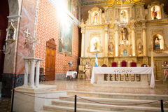 Kirche in San Antonio de Areco, Buenos Aires, Argentinien Lizenzfreies Stockfoto