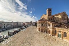Kirche San Donato, Venedig Stockbild