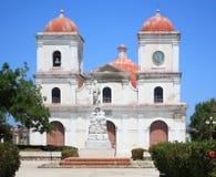 Kirche San-Fulgencios bei Gibara, Kuba. Lizenzfreie Stockfotografie