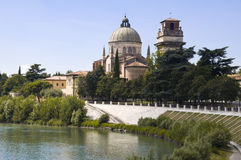 Kirche San-Giorgio, Verona Italien Lizenzfreie Stockfotos