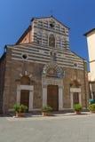 Kirche San Giusto in Lucca (Italien) stockbild