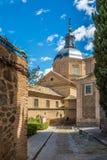 Kirche San Ildefondo von Toledo Lizenzfreies Stockfoto