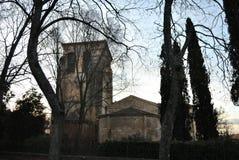 Kirche San Juan de Los Caballeros, Segovia lizenzfreie stockbilder