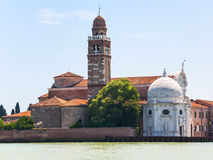 Kirche San Michele in Isola in Venedig Stockbild