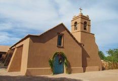Kirche in San Pedro de Atacama Lizenzfreie Stockfotos