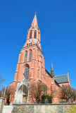 Kirche Sankt Nikolaus in Zwiesel, Bayern Stockfotografie