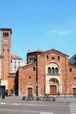 Kirche Sans Babila Mailand, Italien Lizenzfreie Stockbilder