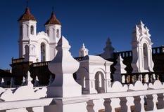 Kirche Sans Felipe Neri in Sucre lizenzfreie stockfotos