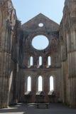 Kirche Sans Galgano stockfotos