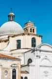 Kirche Sans Geremia in Venedig Stockfotografie