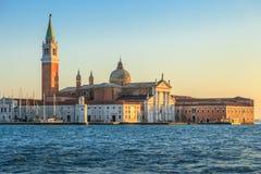Kirche Sans Giorgio di Maggiore in Venedig Italien Stockbild