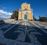 Kirche Sans Giorgio St George, Portofino, Genoa Genova-Provinz, Ligurien, Italien stockbild