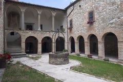 Kirche Sans Giovanni Battista an Carpegna-Märzen, Italien stockfoto