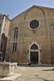 Kirche Sans Gregorio Stockfotografie