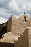 Kirche Sans Lorenzo de Picuris im New Mexiko Stockbilder