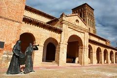 Kirche Sans Lorenzo de Sahagun Lizenzfreies Stockfoto