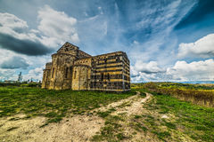 Kirche Sans Michele Salvenero in Sardinien Lizenzfreies Stockbild