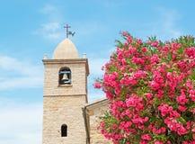 Kirche Sans Pantaleo Stockfoto