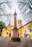 Kirche Sans Terenziano in Cavriago, Italien Stockfotos