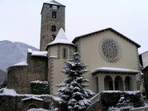 Kirche Sant Esteve in Andorra-La Vella Stockfoto