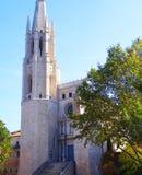 Kirche Sant Feliu Stockfotografie