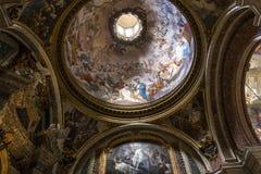 Kirche Sant Ignazio, Rom, Italien Lizenzfreie Stockbilder