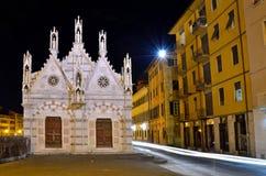 Kirche Santa Maria de la Spina, Pisa, Italien Stockbilder