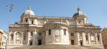 Kirche Santa- MariaMaggiore Stockfotografie